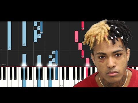 XxxTentacion ft Trippie Redd -  F..k Love (Piano Tutorial Intermediate)