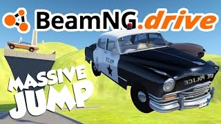 BeamNG.drive Gameplay - Car Jump Arena! - Let's Play BeamNG.drive