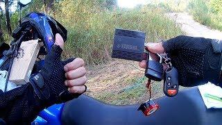 Сигнализация для мотоцикла с Алиэкспресс распаковка обзор и установка на Motoland GS250