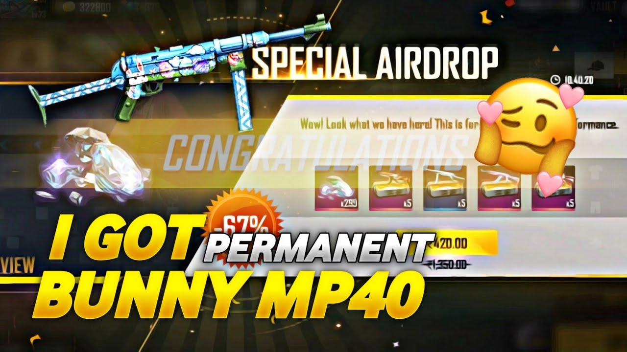 🐰BUNNY MP40🐰 Permanent Or What?👽😱