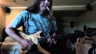 Megadeth Ashes in your Mouth Solo