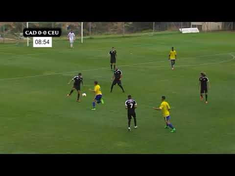 1ª JORNADA - CÁDIZ CF B  - AD CEUTA FC   1ª PARTE
