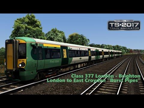 "Train Simulator 2017 - London To Brighton ""Burst Pipes"" |"