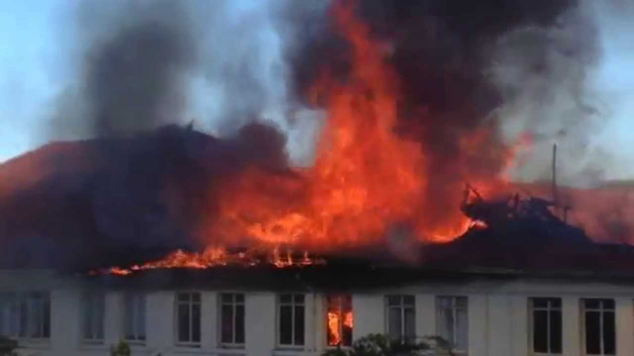 Stellenbosch Rek   Stats building on fire - YouTube 37a7d6903