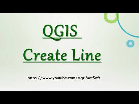 QGIS Create Line