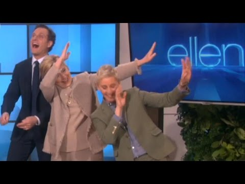 "Hillary Clinton learns to ""Dab"""