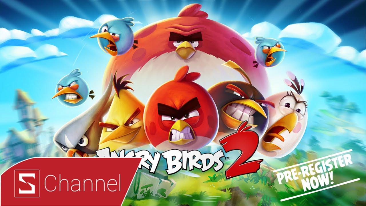Schannel – S games : Angry Birds 2 : Chim điên trở lại nhưng có lợi hại như xưa ?
