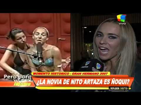 TV retro: la novia de Nito Artaza llora en Gran Hermano por una crema
