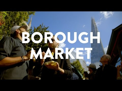 BOROUGH MARKET LONDON IS THE BESSST | What's Good London