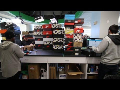 Behind the Scenes of StockX + Catching Fakes +They got cookies!