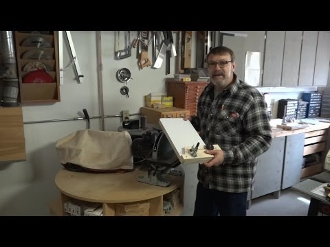 Sanding Jig For Segmented Woodturning   Part 1