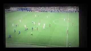 SUPPORTER QUI RENTRE SUR TERRAIN PORTUGAL POLOGNE EURO 2016