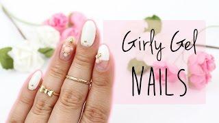 Girly Gel Nail Art | Japanese Nails ♡