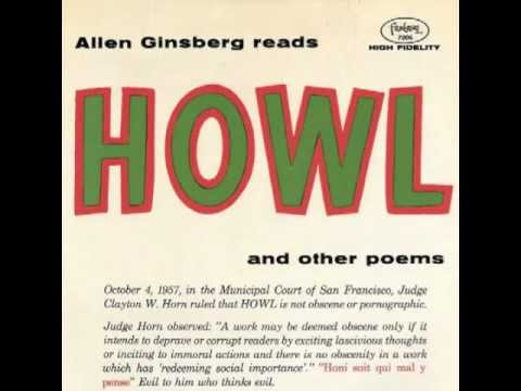 "Allen Ginsberg reads ""Howl,"" (Big Table Chicago Reading ..."