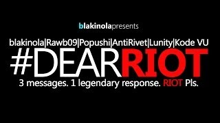 Repeat youtube video Dear Riot (Eminem ft. Dido - Stan PARODY)