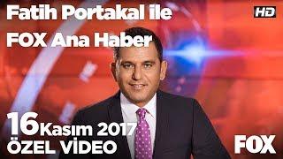 Servete servet katan banka faizi...16 Kasım 2017 Fatih Portakal ile FOX Ana Haber