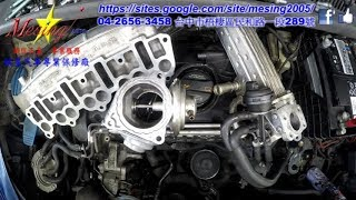 Download Video Intake Manifold Cleaning And EGR Removing Carbon VOLKSWAGEN GOLF 2.0L TDI 2006~ BKD 02E 6S DSG MP3 3GP MP4