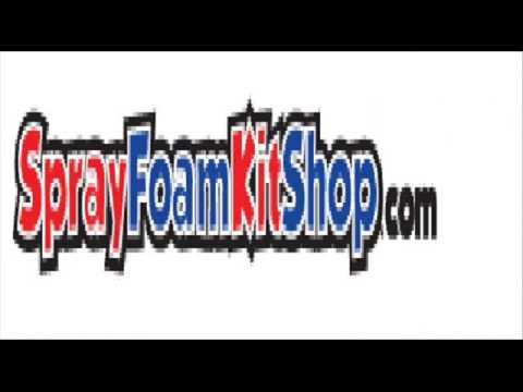 Air sealing spray foam kits for sale