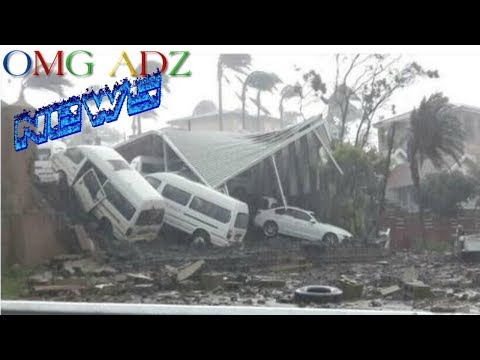 Durban storm 10 October 2017 Compilation Videos and Images