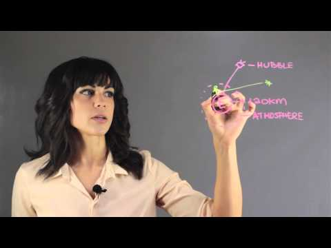 Why Is Hubble at a Higher Orbit? : Astronomy Lessons