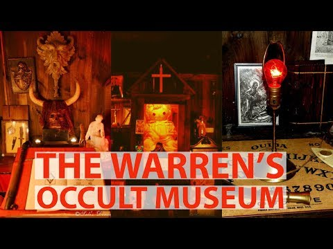the warren's occult museum | Warren Museum Items | Warren and Annabelle | Ed and Lorraine Museum