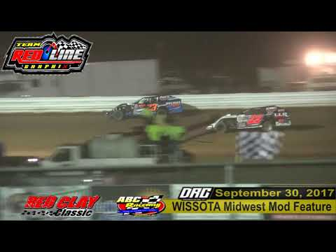 ABC Raceway 9/30/17 WISSOTA Midwest Mod Highlight