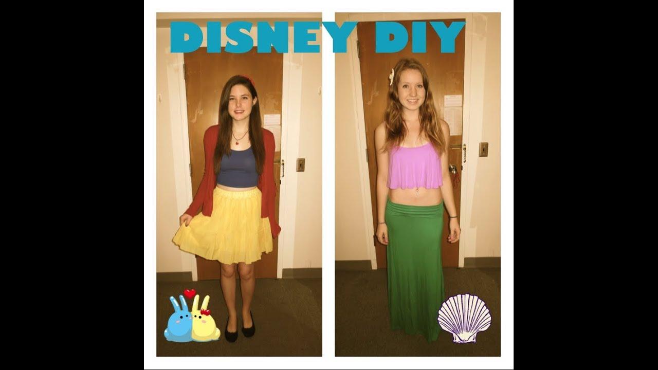 diy disney princess halloween costumedisneybound - Disney Princess Halloween Costumes Diy