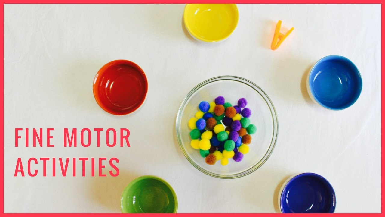 Diy fine motor activities great for toddlers youtube for Fine motor skills activities for babies