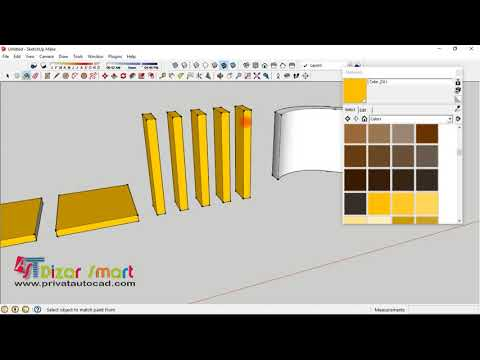 sketchup mapping material