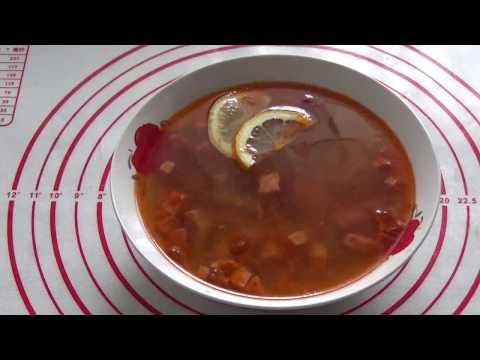 Солянка рецепт в мультиварке скороварке