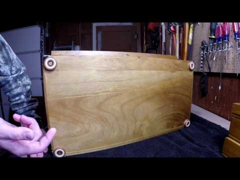 Harbor Freight 8 Drawer Wood Tool Chest- 2 Mods