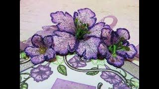 How to Shape Petunia Flowers Using Heartfelt Creations