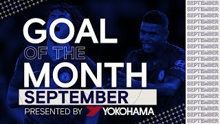 Chelsea's Goal of the Month | September ⚽️