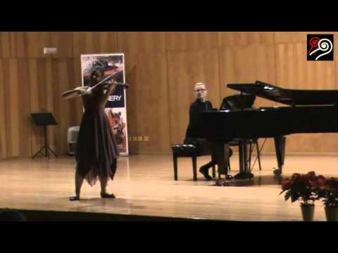 Inés Issel Burzyñska - Aires Gitanos de Pablo Sarasate