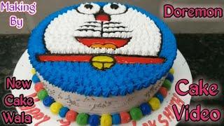 How to make Doremon cake making by New Cake Wala