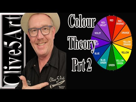 Basic Color Theory Part 2, Acrylic painting for beginners
