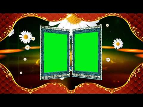 Edius Wedding Video Background Green Screen Animated Effects HD thumbnail