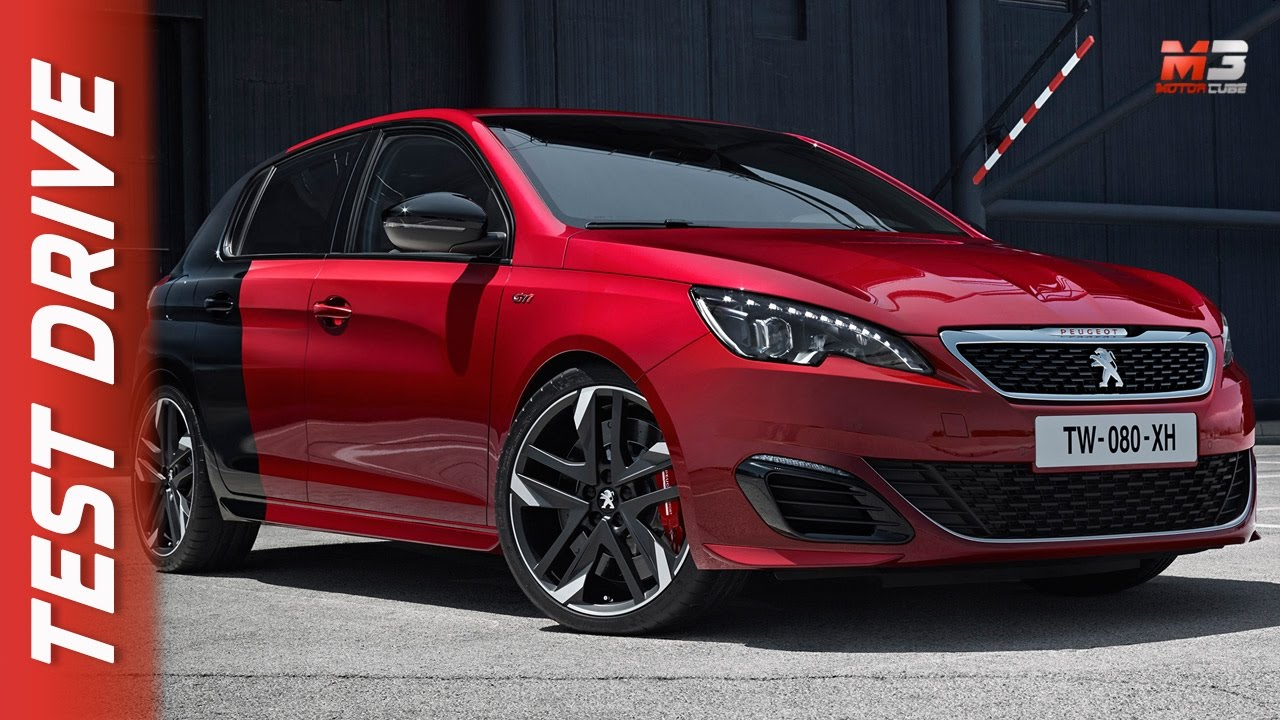 new peugeot 208 gti 308 gti 2017 first test drive eng ita sub youtube. Black Bedroom Furniture Sets. Home Design Ideas