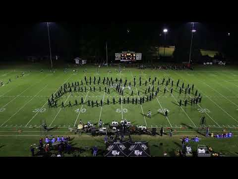 East Hall High School Viking Marching Band 9-29-2017 Half time Show