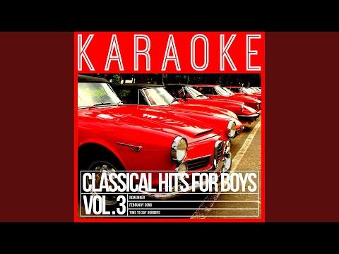 A Mi Manera (My Way) (In the Style of Paul Potts) (Karaoke Version)