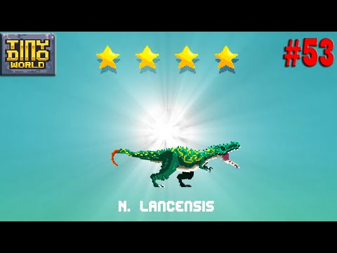 Nanotyrannus.Lancensis & Ice Age Tribe War - Tiny Dino World #53
