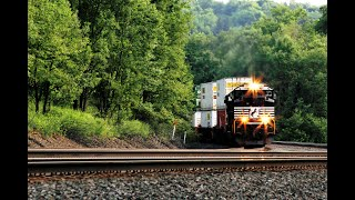 Sounds of the SD70ACe - Roaring EMD 16-710 Prime Mover in Action!