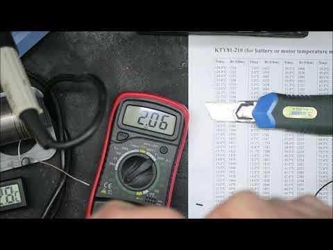 Sensorelement KTY 81 210 - TEST