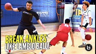 How To Break Ankles Like LAMELO BALL!! Step by Step Breakdown w/ Coach Alex of Thincpro Basketball!