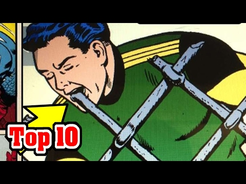 10 RIDICULOUS Superhero Powers In Comic Books