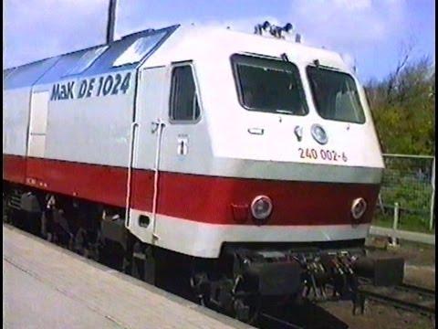 """Testfahrten mit """"Angstlokomotive"""""""