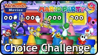 Mario Party 9 - Choice Challenge All Characters (Mario & Friends) Master Difficulty