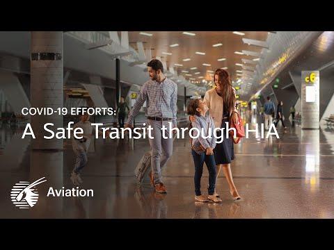 A safe transit through Hamad International Airport   Qatar Airways