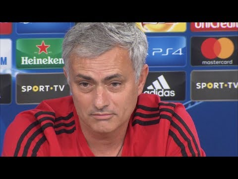 Jose Mourinho Pre-Match Press Conference - Benfica v Manchester United - Champions League