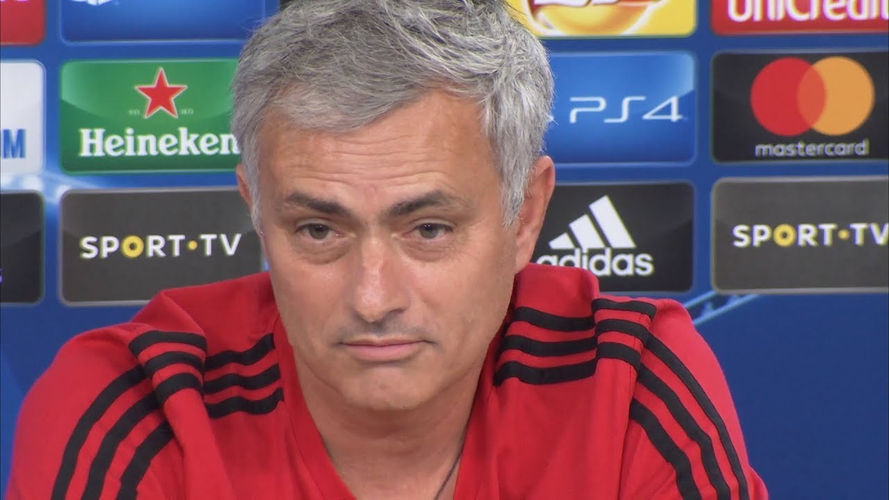 Jose Mourinho Pre Match Press Conference Benfica V Manchester United Champions League